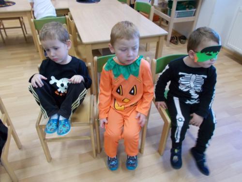 Halloweenské dovádění