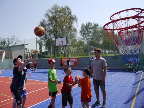 Basketbalová show - II. část