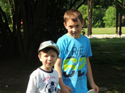 31.5. Den dětí ZŠ a MŠ na školní zahradě