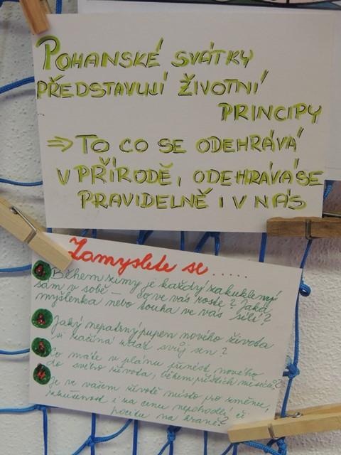 ŠD -  Poznáváme svět Keltů 1.2. jsme oslavili IMBOLC-svátek světla a svící