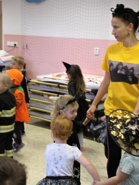 Halloweenská párty v MŠ