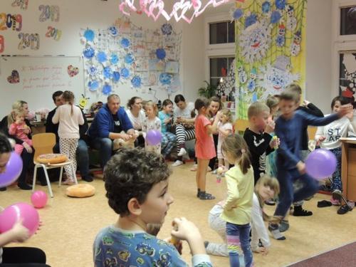 ŠD - Valentýnská pyžamová párty