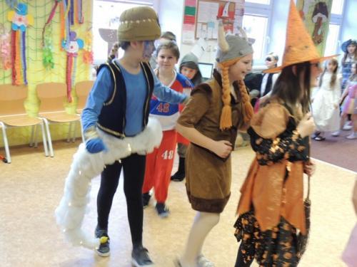 ZŠ - Maškarní karneval