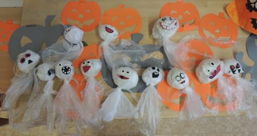 ŠD - Halloweenské tvoření
