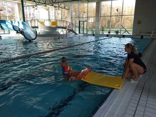 Ukončení plaveckého výcviku