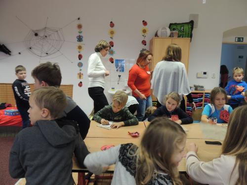 Návštěva německých dětí