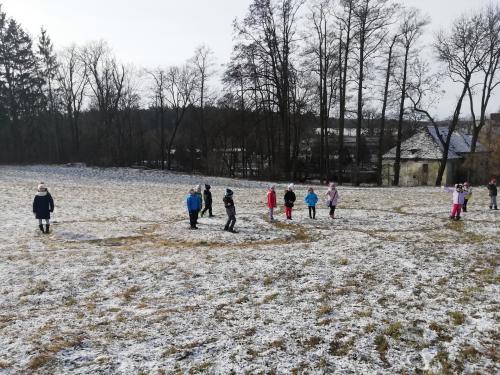 Konečně sníh!