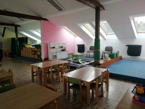 Náhradní prostory ve škole v přírodě