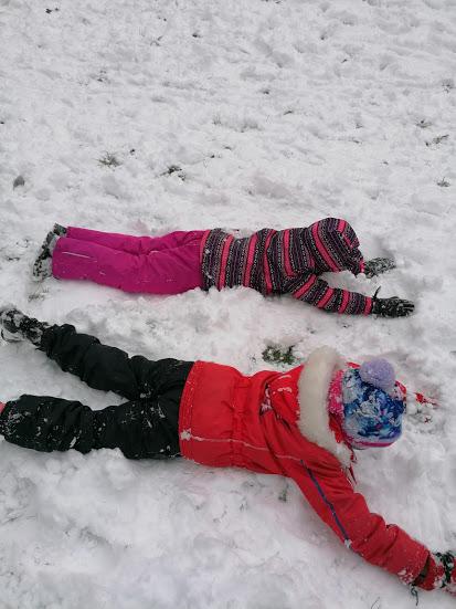 ŠD - První sněhová nadílka
