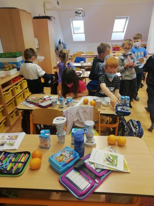 Ochutnávka výrobků z projektu Mléko do škol