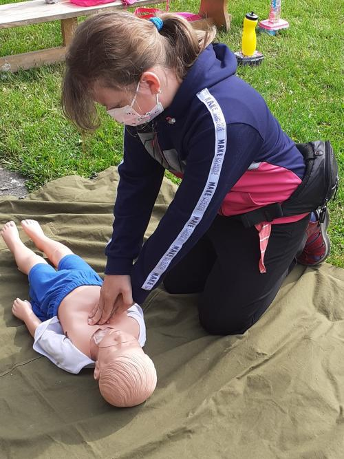 """Projekt """"Malý záchranář"""" - resuscitace"""